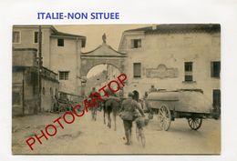 NON SITUEE-ITALIE-CARTE PHOTO Allemande-Guerre 14-18-1 WK-ITALIEN-Militaria- - Unclassified
