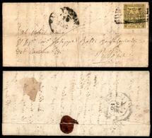 10064 MODENA - 15 Cent (3) Isolato Su Letterina Da Massa Carrara A Pistoia Del 20.5.57 - Ottimi Margini (250+) - Stamps