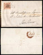 10092 NAPOLI - 2 Grana Rosa (5) - Lettera Da Napoli A S. Severo Del 12.11.60 - Molto Bella - Stamps