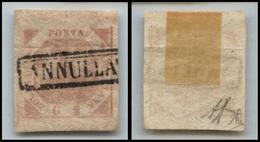 10094 NAPOLI - 1858 - 2 Grana Rosa Chiaro (6) Seconda Tavola - Usato (100) - Unclassified