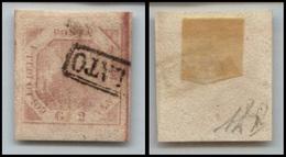 10095 NAPOLI - 1858 - 2 Grana Rosa Chiaro (6) Seconda Tavola - Usato (100) - Stamps