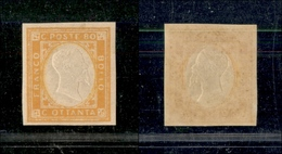 10101 NAPOLI - PROVINCE NAPOLETANE - 1861 - 80 Cent Effige (5) Gomma Integra (330) - Stamps