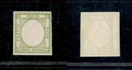 10102 NAPOLI - PROVINCE NAPOLETANE - 1861 - Mezzo Tornese Senza Effige (17ala) Gomma Integra (1.200) - Unclassified
