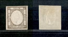 10105 NAPOLI - PROVINCE NAPOLETANE - 1861 - Mezzo Grano Bruno (18d) - Nuovo Con Gomma (350) - Unclassified
