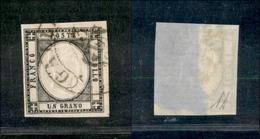 10108 NAPOLI - PROVINCE NAPOLETANE - 1861 - 1 Grano Nero (19) Annullato (60) - Unclassified