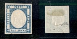 10111 NAPOLI - PROVINCE NAPOLETANE - 1861 - 20 Grana Azzurro Scuro (20d) Nuovo Con Gomma - Raybaudi (225) - Unclassified