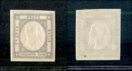 10120 NAPOLI - PROVINCE NAPOLETANE - 1861 - 50 Grana Grigio Perla (24) - Splendido (70) - Stamps