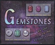 Grenada - Mineralen / Minerals / Minéraux / Mineralien - XX - Michel 4898/4903 KB - Cote 10.00 - Grenade (1974-...)
