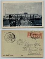 10627 REGNO - P. AEREA  - Livorno Posta Aerea Eccezionale - 28.6.25 - Cartolina Per Firenze - Stamps
