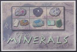 Grenada - Mineralen / Minerals / Minéraux / Mineralien - XX - Michel 4892/4897 KB - Cote 10.00 - Grenade (1974-...)