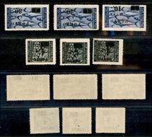 11168 OCC.JUGOSLAVA - ISTRIA - 1946 - Segnatasse Soprastampati (14/19) - Serie Completa Di 6 Valori - Gomma Integra (150 - Unclassified