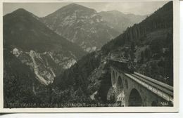 Mittenwaldbahn Vorbergviadukt Gegen Raucherkopf (002852) - Unclassified
