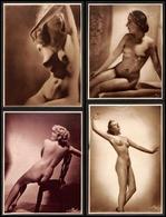 12535 Fotografie - Wog Berlin - Nudi Femminili - 11 Ritratti Fotografici Artistici - Formato Grande (minimo 22x30) - Stamps