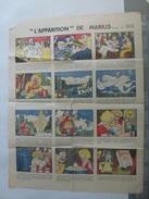Affiche L'Apparition De Marius Demont Edmond Publicité Septol  Saponite - Werbung