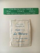 6307 -  Vino Bianco Vivace Pour Hôtel La Balnearia Alassio Italie - Art