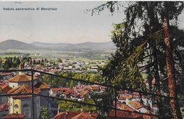 MENDRISIO → Veduta Panoramica Di Mendrisio Anno 1917 - TI Tessin