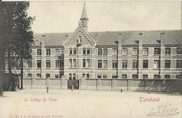 Turnhout   -   Institut St. Victor   -   Zeer Mooie Kaart!   -   1909 Naar  Lier - Turnhout