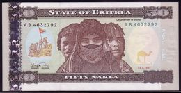 Eritrea 50 Nakfa 24.05.1997 UNC - Erythrée