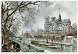 PARIS - Notre-Dame Abside - Notre Dame De Paris