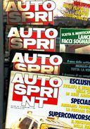 X AUTOSPRINT 50/1984 CASCHI D'ORO LAUDA FERRARI - Motori