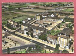 Garges-les-Gonesse - En Avion - La Mairie Et Le Groupe Scolaire Langevin - Garges Les Gonesses