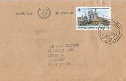 Cyprus 1983 Nicosia Paper Factory Industry Commonwealth Cover - Fabrieken En Industrieën
