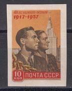 USSR 1957 - 40 J. Der Oktoberrevolution, Mi-Nr. 1995B, MNH** - Nuovi