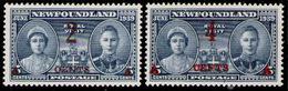 NEW FOUNDLAND 1939 - Set MNH - Terre-Neuve