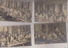 Paris:Lot De 11: 3 Cartes-photo Et 8 Photos:Au Dos:Institut Pasteur 1903:Quelques Précisions Nominatives - Salud, Hospitales