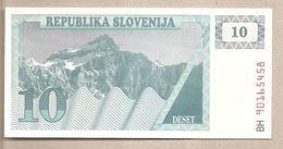 Slovenia - Banconota Non Circolata FdS Da 10 Talleri - 1990 - Slovénie