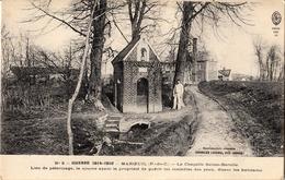Thématiques 2018 Commémoration Fin De Guerre 1914 1918 Maroeuil Pas De Calais Chapelle Sainte Bertille - Guerre 1914-18