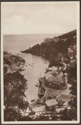 Entrance To Harbour, Looe, Cornwall, C.1930s - Frith RP Postcard - England