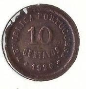Portugal - 10 Centavos ($10) 1926 - Fine - Portugal