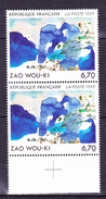N° 2928 Série Artistique: Oeuvre Originale De Zao Wou-Ki: Une Paire De 2  Timbres  Neuf Impeccable - Ungebraucht