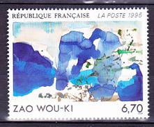 N° 2928 Série Artistique: Oeuvre Originale De Zao Wou-Ki: Un  Timbre  Neuf Impeccable Sans Charnière - Ungebraucht