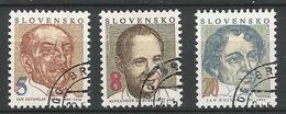 Slovakia 1993 **     Personalities - Bella-Dubcek- Kollar    ** Mich 171 - 173   **Cancelled CTO ** Slowakei - Slovaquie