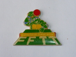 Pin's TORTUE NINJA, PING PONG - Table Tennis