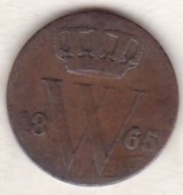 Netherlands.  1/2 Cent 1865 . William III . KM# 90 - [ 3] 1815-… : Royaume Des Pays-Bas