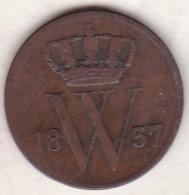 Netherlands.  1 Cent 1837 . William I . KM# 47 - [ 3] 1815-… : Royaume Des Pays-Bas