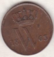 Netherlands.  1 Cent 1863 . William III . KM# 100 - [ 3] 1815-… : Royaume Des Pays-Bas