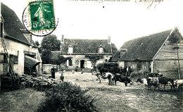AJ 384/ C P A   - AUTHON -DU-PERCHE  (28)   INTERIEUR DE FERME - Sonstige Gemeinden