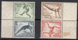 DR SK 27 + SK 28, Postfrisch **, Olympische Spiele 1936 - Zusammendrucke