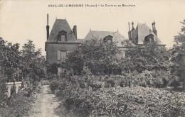 CPA - Availles Limousine - Le Château De Bellevue - Availles Limouzine