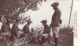 Thématiques 2018 Commémoration Fin De Guerre 1914 1918 Artillerie Française Piece De 65 De Montagne - Guerre 1914-18