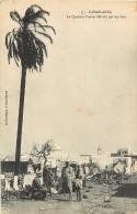CASABLANCA LE QUARTIER TNAKER DETRUIT PAR LES OBUS - Casablanca