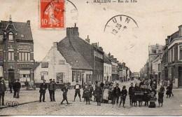 59 HALLUIN  Rue De Lille  (très Animée) - Otros Municipios