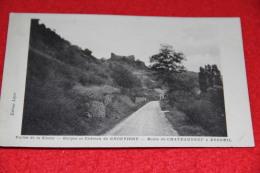 03 Chouvigny Route De Chateauneuf à Ebreuil Gorges Et Chateau 1943 - Non Classificati
