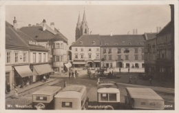 WR.NEUSTADT - Hauptplatz, Fotokarte Gel.1931, - Wiener Neustadt