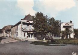 """Boyer - La Place - Magasin """"Nigéco"""" Publicités Butagaz, Motta - Pas Circulé - Other Municipalities"""