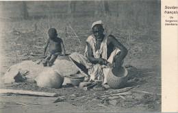 H2 - SOUDAN FRANÇAIS - Un Forgeron Bambaras - Sudan